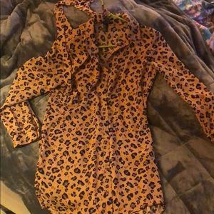 Long tunic or short dress